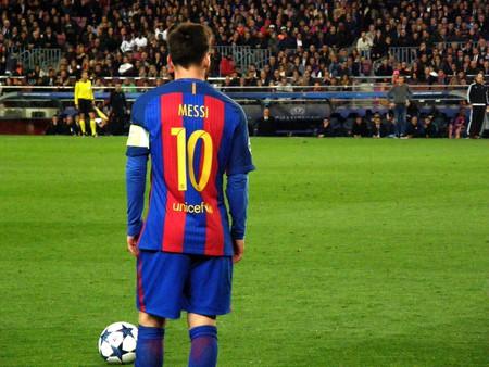 Lionel Messi for FC Barcelona © Hugo Pérez Marsol