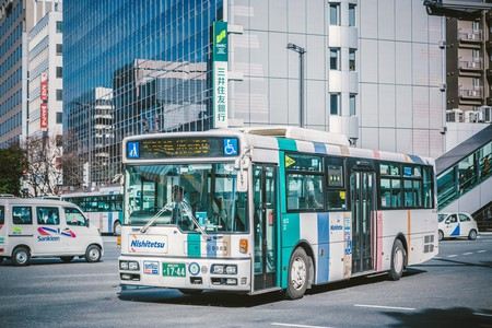 Japanese bus | © Hans Johnson/ Flickr