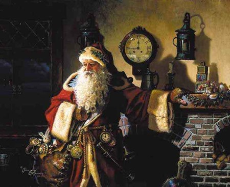 Father Christmas | © Morgan Ginther / Flickr