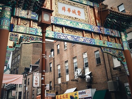 Philadelphia Chinatown arch Pennsylvania picture © Royalty Free/Flickr