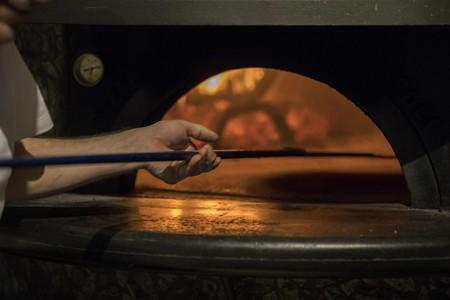 Nona's pizza oven