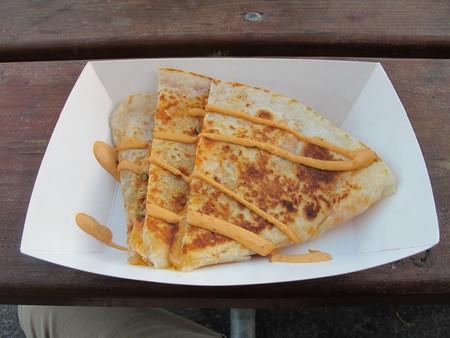 Kimchi Quesadilla from MoGo BBQ at Off the Grid: Fort Mason Center |©Gary Stevens / Flickr