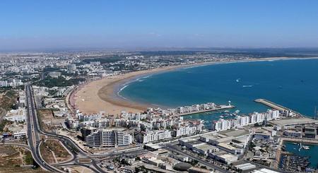 Views over Agadir, Morocco