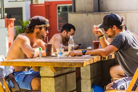 Bar at Ô de Casa hostel, São Paulo   © Courtesy of Ô de Casa