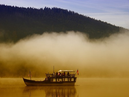 Boat on the Titisee