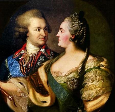 Catherine II and Potemkin|©Public Domain/WikiCommons