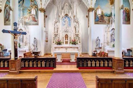 Inside the Church of The Assumption | © Church of The Assumption/Facebook
