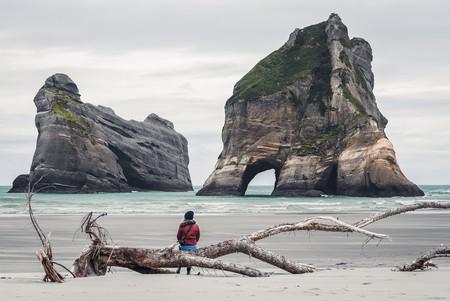 Whakariki Beach, Puronga, New Zealand | © Daniel Jacobs/Unsplash