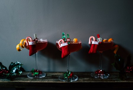 Cocktails at the Sleyenda holiday pop-up at Leyenda | Image courtesy of Leyenda