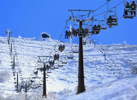 Mount Hermon Ski Resort, in Israel's far north   © Shai Kedar