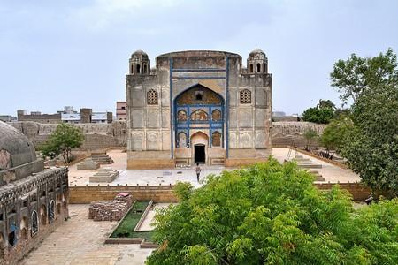 View of the Kalhoro Shrine