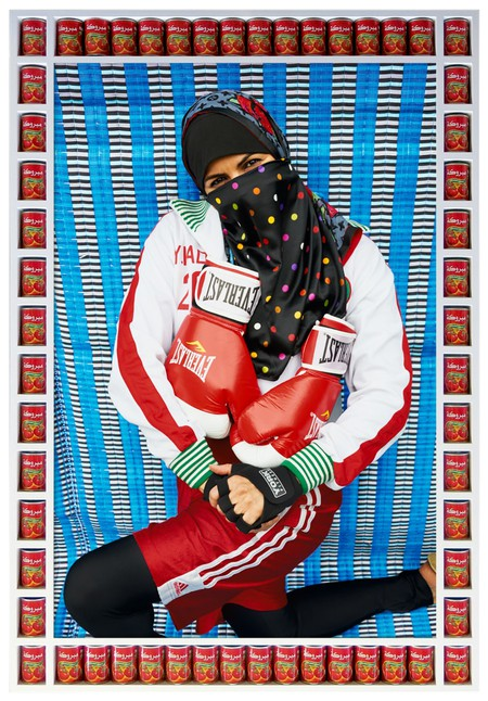 Hassan Hajjaj, Pose 2011 | Courtesy Lagos Photo Festival