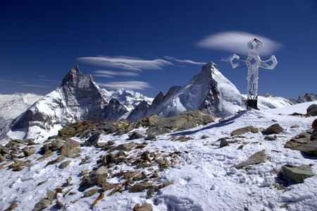 The Tête Blanche, near the Patrol's highest point   © Jackph/Wikicommons