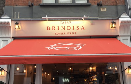 The entrance to Brindisa Rupert Street, London © Culture Trip