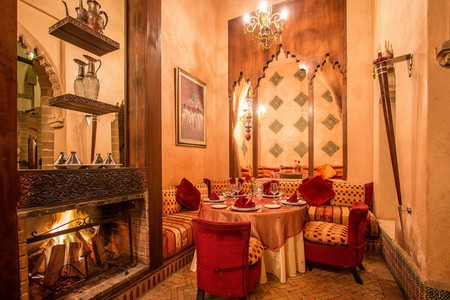 Dining area   Courtesy of Le Ziryab