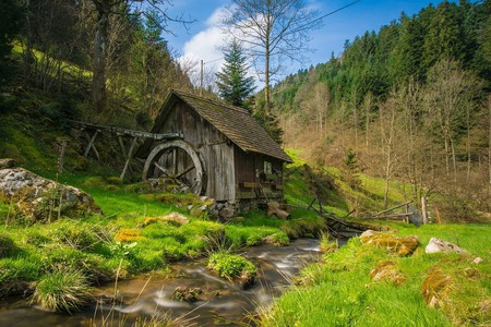 Mill in the Black Forest I © hschmider / Pixabay