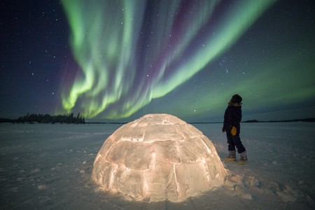 Northern Lights   © Blachford Lake Lodge / Martina Gebrovska
