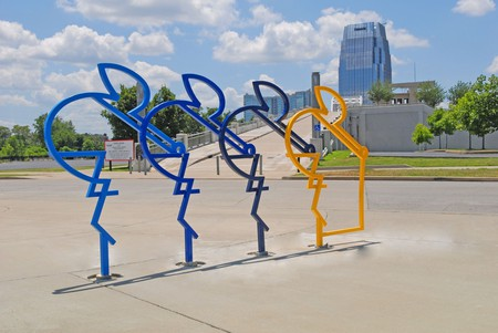 The Riders by Seth Conley | © Stacey Irvin / Metro Nashville Arts Commission