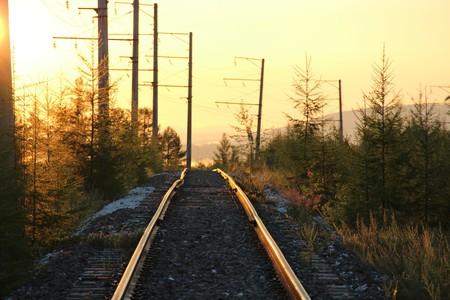 Railway track, Siberia | © Geese_double / Pixabay