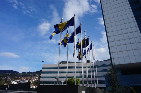 Bosnia Flag | © Sam Bedford