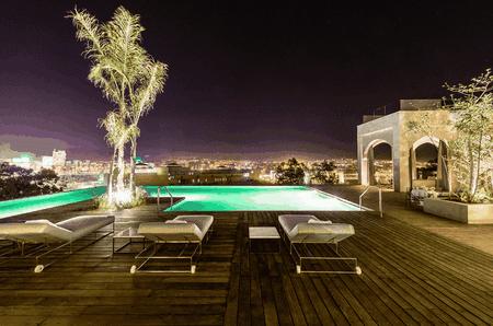 Pool area  Courtesy of Hotel Sahrai