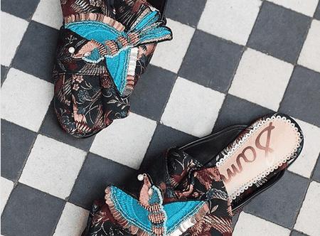 Sam Edleman loafers | © Instagram @anthropologieeu
