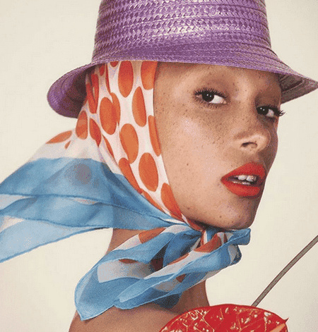 Adwoa Aboah for British Vogue | © Instagram @adwoadboah