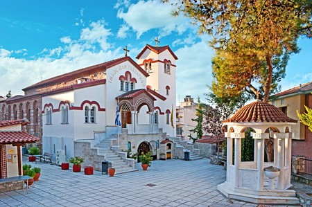 In the Upper Town stands the church of the Archangels, dedicated to Michael and Gabriel | © eFesenko/ Shutterstock