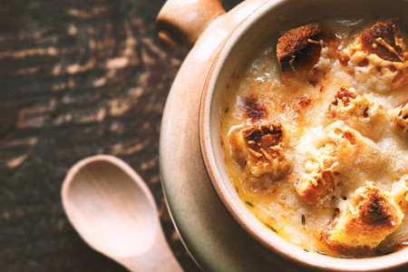 French onion soup is guaranteed to keep you warm this winter | © Karpenkov Denis/Shutterstock