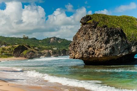 Mushroom Rock, Bathsheba Beach, Barbados | © Randy Stedwell/ Shutterstock