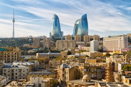 Getting around in Baku is easy by metro or Uber
