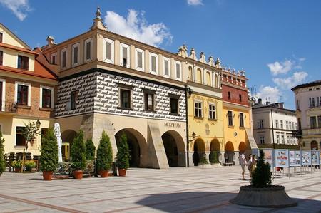 Market square in Tarnów