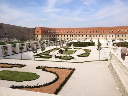 The Baroque-style gardens at the Bratislava Castle, one of Bratislava's most beautiful landmarks | © Taylor Geiger