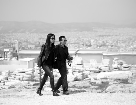 Couples visiting the Acropolis, Athens | © Sascha Kohlmann/Flickr