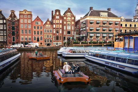 How a roboat could be used in Amsterdam | © MIT Senseable Lab
