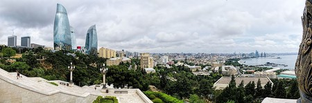 Amazing view of Baku city from Dagustu Park | © Dan Lundberg/WikiCommons