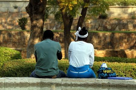 Couple taking a break in Windhoek | © Marco Zanferrari / Flickr