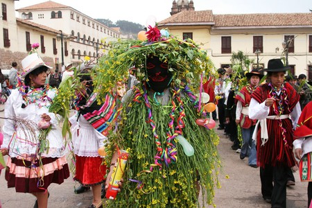 Carnival in Cusco, Peru