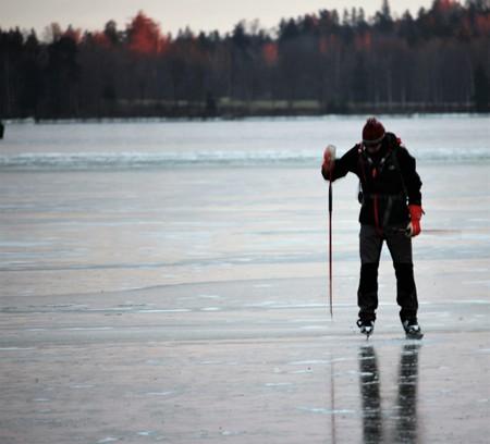 Frozen Finnish lake | © Ilkka Jukarainen / Flickr