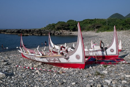 Fishing boats on Lanyu | © billy1125 / Flickr