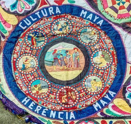 Kite detail in Guatemala