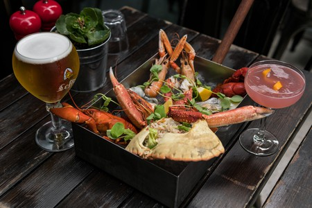 Seafood is the specialty at La Terraza