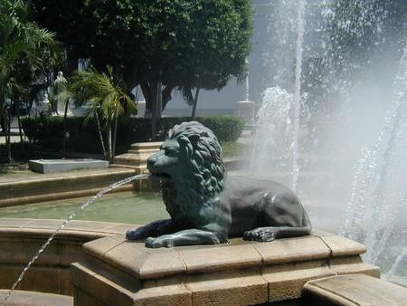 Fuente de los Leones, Ponce