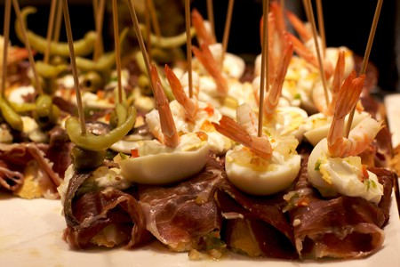 Basque-style snacks