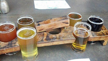 The Wicked Weed Flights   © WNJohnson / Flickr