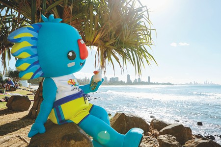 Borobi the mascot of the Gold Coast 2018 Commonwealth Games | © TEQ