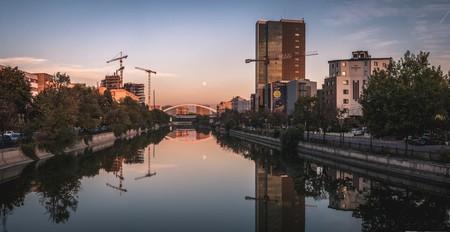 Bucharest at sunset © Ion Băzăvan