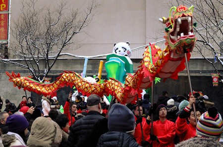Dragon Dance during the Chinese New Year Parade in Montreal | © Gerry Lauzon/ Flickr