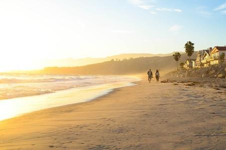 Californian Beach at Sunset