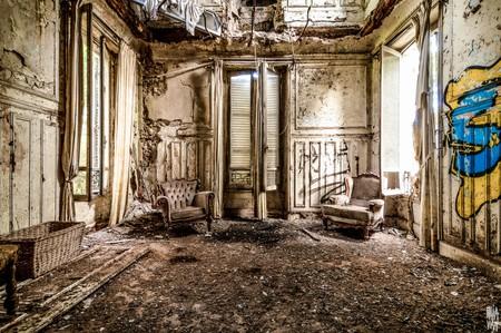 Abandoned sites photography series in Île-de-France | © Brice Retout - Photography